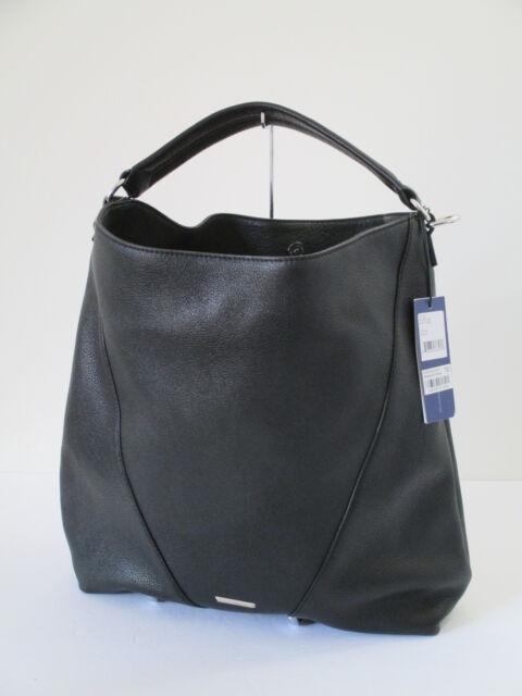Rebecca Minkoff Moto Black Leather Hobo Shoulder Bag | eBay