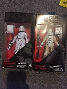 NEW BLACK SERIES  all 3 are sealed