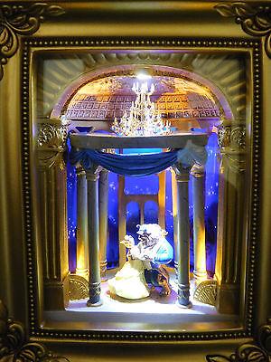 New Disney Parks Olszewski Beauty and the Beast GOL Gallery of Light Box dance
