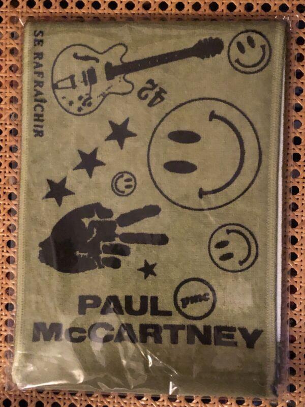 Paul McCartney Freshen Up Tour Towel!