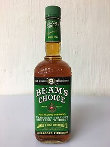 Beam's Choice 8 Old Family Formula Kentucky Straight Bourbon Whiskey 75cl 43% - Italia - Beam's Choice 8 Old Family Formula Kentucky Straight Bourbon Whiskey 75cl 43% - Italia