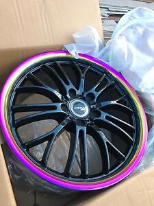 PDW/// 19 INCH PCD 120 ONLY FIT VE OR SAME CB 66.8 RAINBOW CHEAP Craigieburn Hume Area Preview