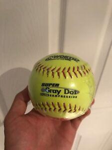 Brand New in Plastic Wrap Softball Grey Dot