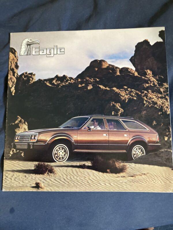 1985 AMC Eagle 4X4 Color Brochure Catalog Prospekt