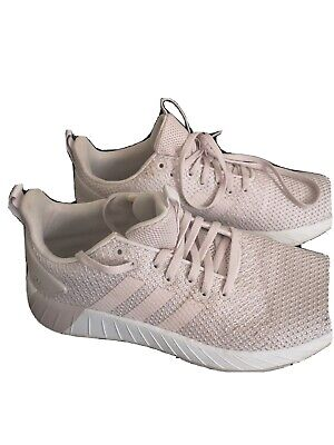 Adidas Questar BYD Cloudfoam Ladies trainers light Pink/White UK 7 EUR 39.5
