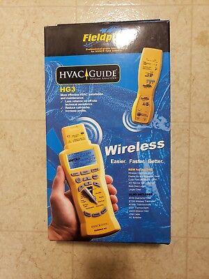 New In Box Fieldpiece Hg3 Wireless Hvac Guide System Analyzer