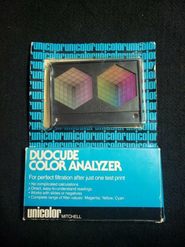 Unicolor Duocube Color Analyzer Mitchell Prints Negatives Slides