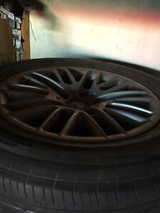 BMW 5 Series Rims and Tires