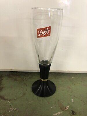 vintage Lighted Schlitz After Hours Beer Glass-By David Douglas