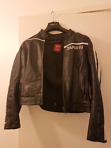Women's Ducati Dainese Leather Jacket Black Small Macquarie Park Ryde Area Preview