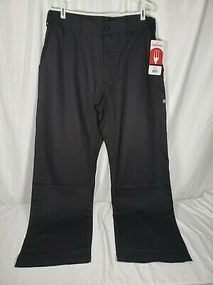 Chef Works Men Cargo Chef Pants Pser Black Size Large