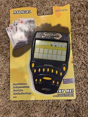 Radica Solitaire Big Screen Handheld Game Klondike Vegas 1999 8025 Tested Klondike Solitaire Games