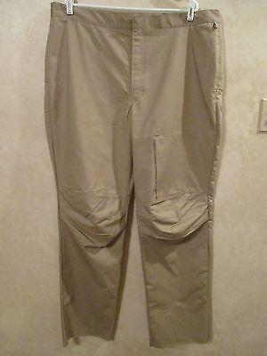NWT LANDAU Size 42 42T 43 43T 44 44T Tan Khaki Unhemmed Unif