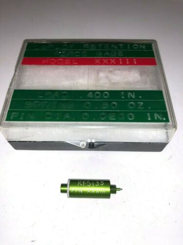 Lerloy XXXIII Connector Contact Retention Force Gage, .400 Load, 0.0280 Pin