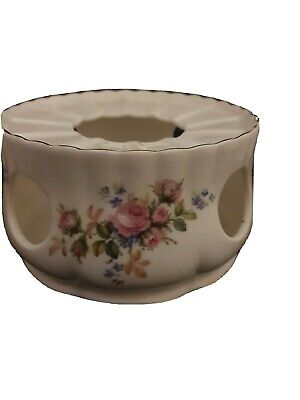 Used, ROYAL ALBERT MOSS ROSE TEAPOT WARMER 1st Q - RARE !!  2nd pattern flower b/s for sale  Shipping to South Africa
