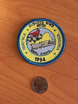 Subvets WWII National Convention 1994 Norfolk Virginia Badge Patch