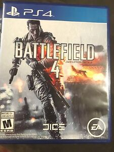 Battle field 4 , PS4