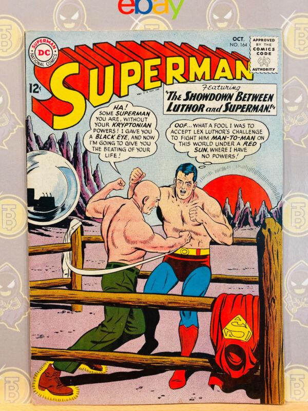 Superman #164 (8.0) VF 1963 Silver Age Key Issue DC Comics