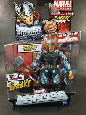 Return of Marvel Legends Terrax Build a Figure Wave The Mighty Thor HUGE!