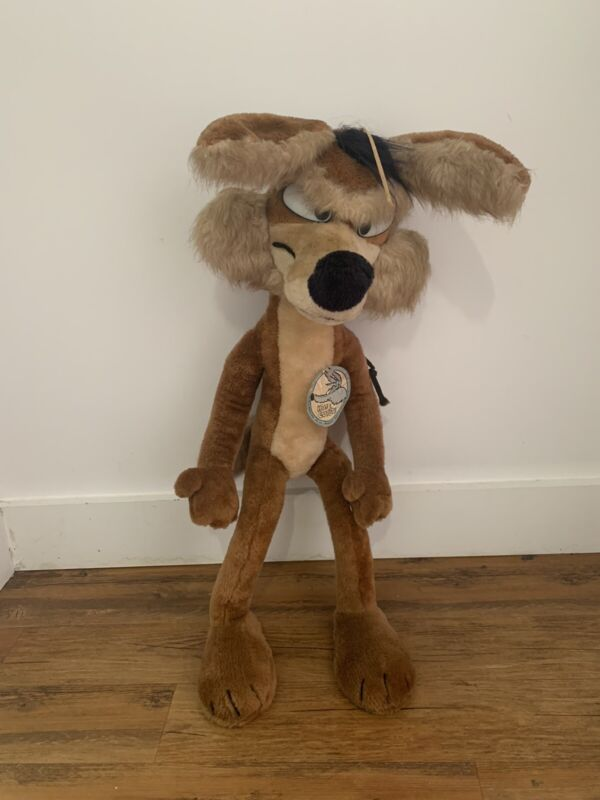 Mighty Star 1971 Stuffed Wile E Coyote 28""