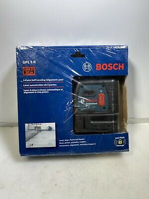 Bosch - 5-Point Self-Leveling Alignment Laser GPL 5 R