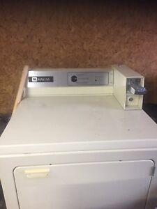 Maytag coin op washer and dryer