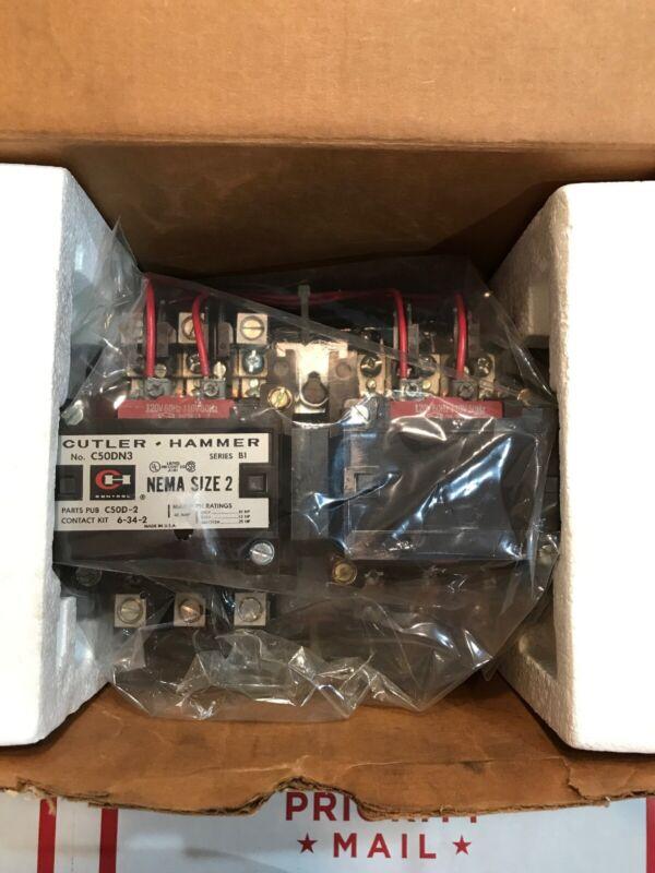 Cutler Hammer C50DN3AB Reversing Contactor C50DN3 UPC 78-2113