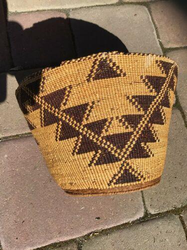 Antique Pit River Basket