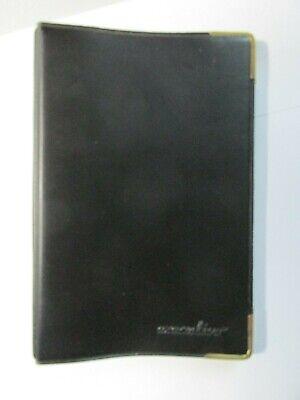 Small Black Pocket Size Notebook 3-34 X 5-58 Stuart Hall Executive