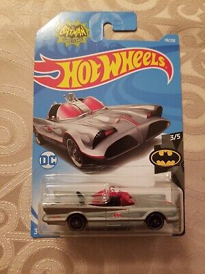 2019 Hot Wheels #118 GRAY TV SERIES BATMOBILE