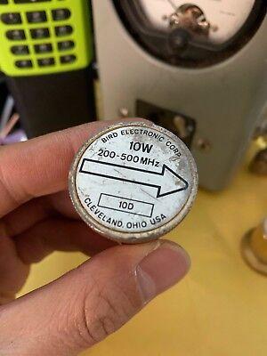 Bird 10d 10w Watt 200mhz To 500mhz Element Slug For Radio Coaxial Rf Wattmeter