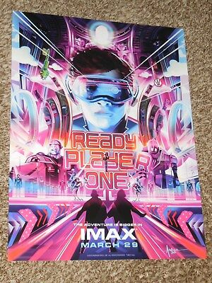 Ready Player One Imax 13 5X18 Promo Movie Poster
