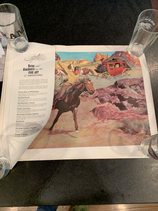 American Oil Company Amoco Posters Fine Art Americana American History McBarron