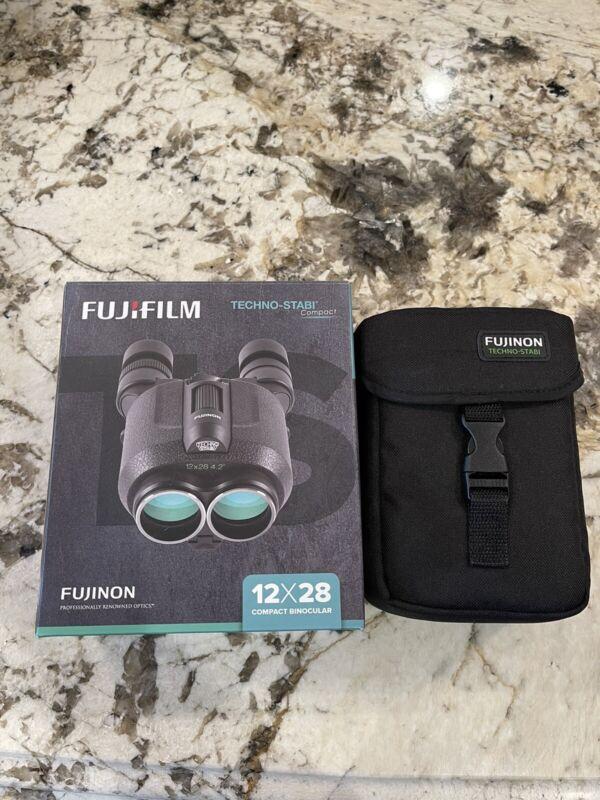 FujiFilm Techno Stabl compact binocular 12x28
