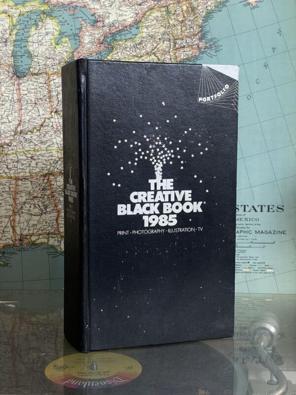 The Creative Black Book 1985 Hardcover Photography Print Illustration TV