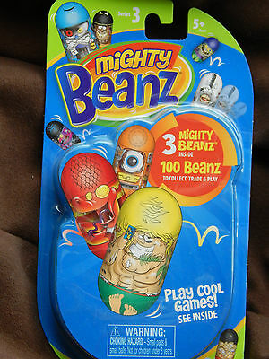 Mighty Beanz! Jumping beans! Brand New! Party bag! Collect! Series 3!