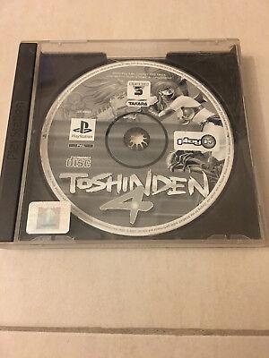 Jeu vidéo Toshinden 4 Playstation Sony PS1