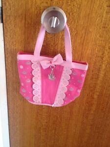 Pink poppy little girls bag Ashfield Ashfield Area Preview