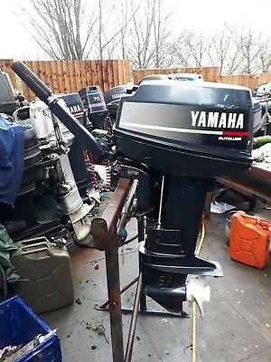 YAMAHA OUTBOARD 20HP SHORT SHAFT 2STROKE YEAR 1991