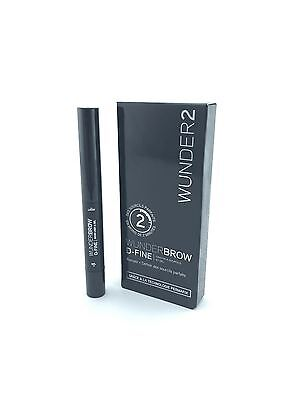Wunderbrow Wunder2 D-Fine Black / Brown Fast Free Shipping 100% Authentic