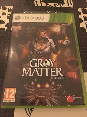 Jeu vidéo Gray Matter XBOX360