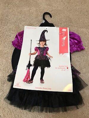 Toddler Witch Costume 12-18 Mos. Super Cute! $2 FLAT SHIPPING! - Toddler Witch Costume