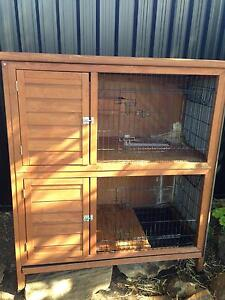 Double story rabbit hutch Glenmore Park Penrith Area Preview