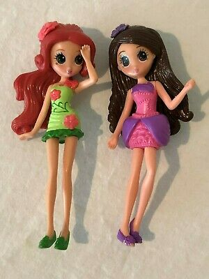 "Barbie Thumbelina Dolls 2008 Mattel 5"" Lot of 2"