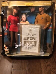 Star-trek collectors edition Barbie & ken