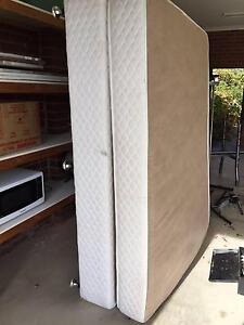 Queen Bed frame + free Mattress Kialla Shepparton City Preview