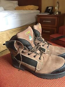 Safety shoes size 11   $120