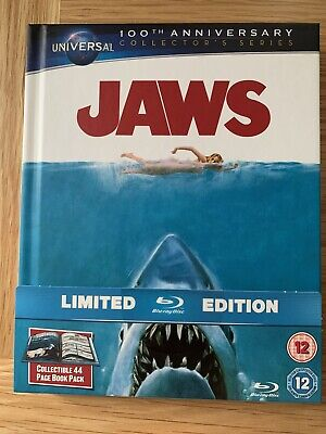 Jaws 1975 Bluray Digibook Book Limited Edition New Region B