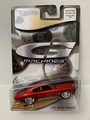 Hot Wheels G Machines '70 Chevelle - Red - 1:50 scale