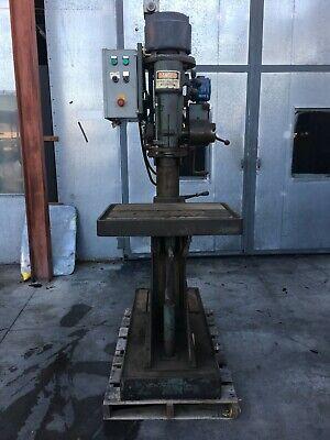 Johansson 20 X 28 Table Radial Arm Drill Press